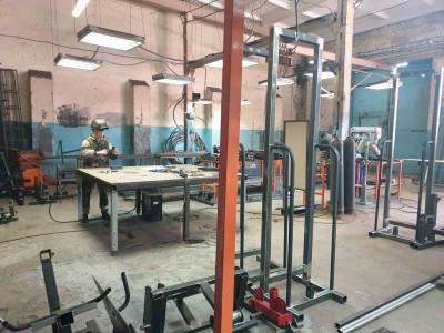 Производство спортивных тренажеров цех