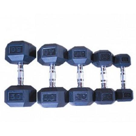 Профессиональный гантельный ряд, 32,5 - 40 кг
