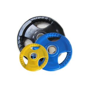 Обрезиненные диски для штанги, 51 мм, цветные (7)