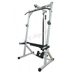 Cтойки для приседаний RT-Sport SP-60N + Верхняя-нижняя тяга (свободные веса)